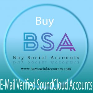 Buy Email Verified SoundCloud Accounts